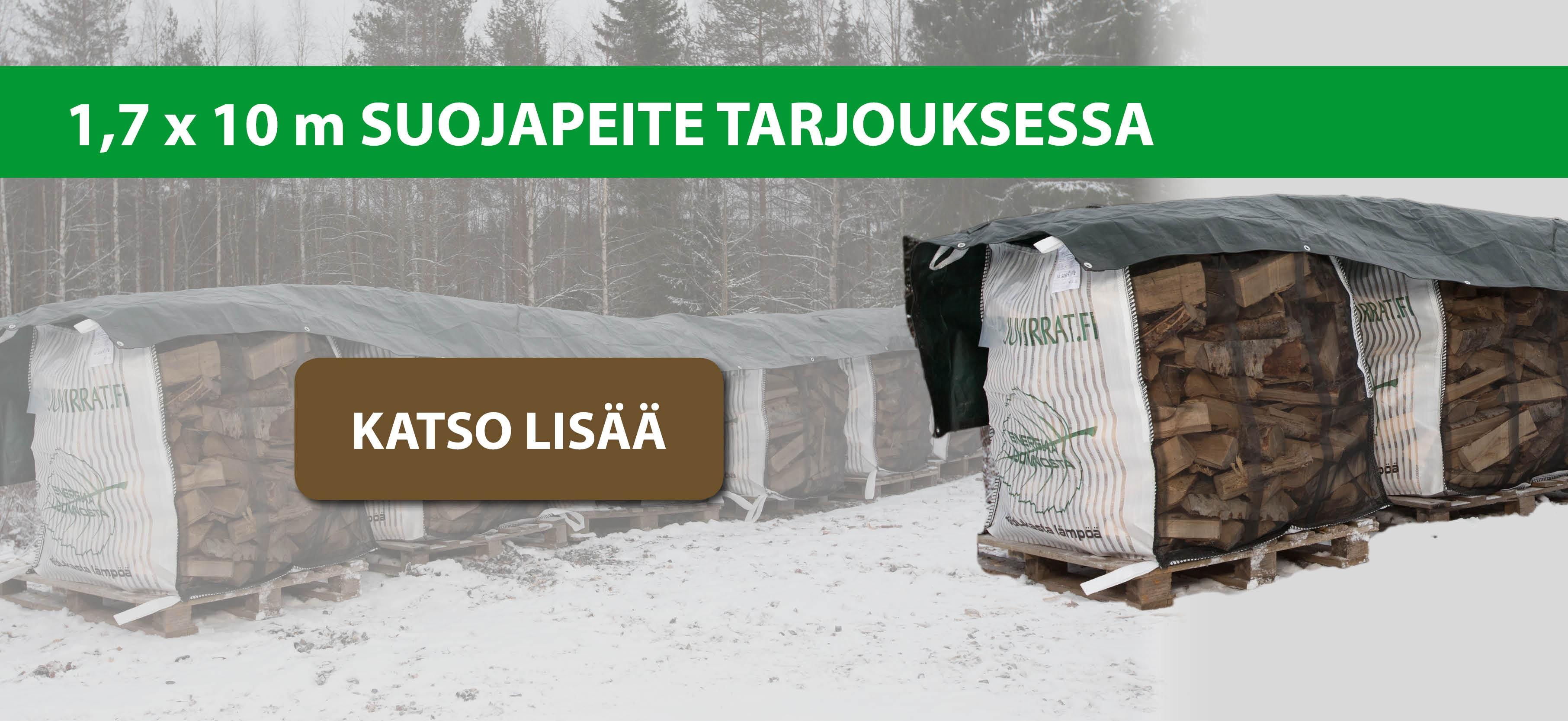KATSO TARJOUS 1,7 X 10M SUOJAPEITTEESTÄ